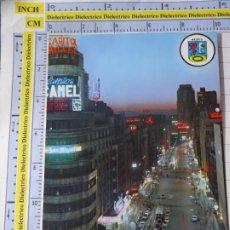 Postales: POSTAL DE MADRID. AÑO 1966. AVENIDA DE JOSE ANTONIO 46 BERGAS. 1209. Lote 276420953
