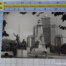 Postales: POSTAL DE MADRID. AÑOS 30 50 PLAZA DE CERVANTES MONUMENTO A CERVANTES 78 GARRABELLA. 1210. Lote 276420978