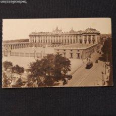Postales: MADRID - PALACIO NACIONAL: PLAZA DE LA ARMERÍA. HELIO GRÁFICA ESPAÑOLA. Lote 276708538