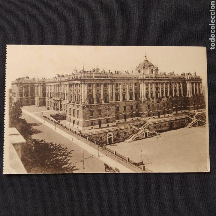 MADRID - PALACIO NACIONAL: VISTA GENERAL. HELIO GRÁFICA ESPAÑOLA (Postales - España - Comunidad de Madrid Antigua (hasta 1939))