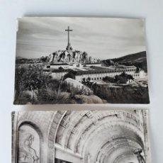 Postales: 2 POSTALES DEL VALLE DE LOS CAIDOS 1959.. Lote 276724273