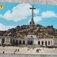 Postales: POSTAL SANTA CRUZ DEL VALLE DE LOS CAIDOS EXPLANADA Y FACHADA PRINCIPAL DEL MONUMENTO. N.40. Lote 276773788