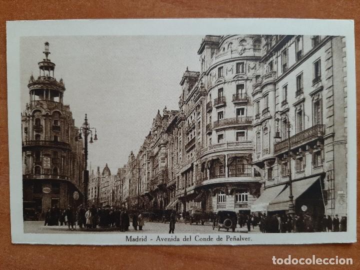 POSTAL DE MADRID - AV. DEL CONDE DE PEÑALVER (Postales - España - Madrid Moderna (desde 1940))