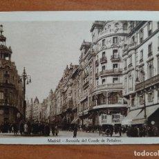 Postales: POSTAL DE MADRID - AV. DEL CONDE DE PEÑALVER. Lote 276993068