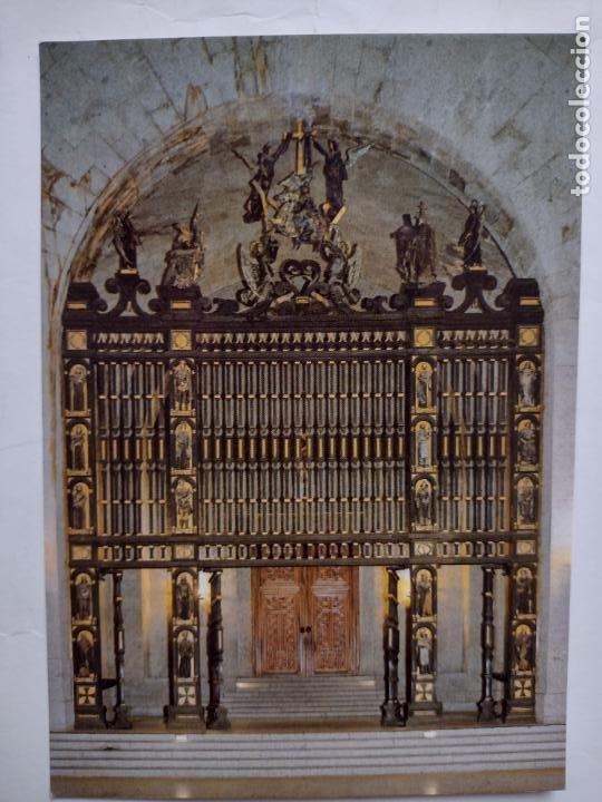 POSTAL SANTA CRUZ DEL VALLE DE LOS CAÍDOS - REJA - EDITORIAL PATRIMONIO NACIONAL PSV-3/86 (Postales - España - Madrid Moderna (desde 1940))