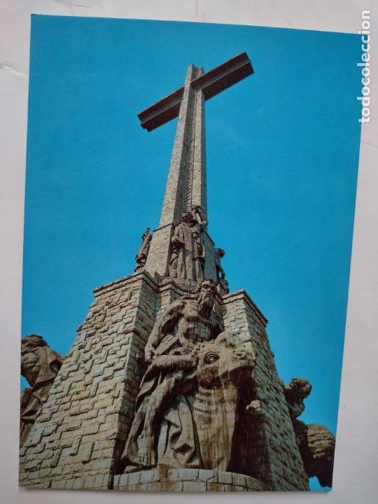 POSTAL SANTA CRUZ DEL VALLE DE LOS CAÍDOS - CRUZ MONUMENTAL - EDITORIAL PATRIMONIO NACIONAL PSV-2/86 (Postales - España - Madrid Moderna (desde 1940))