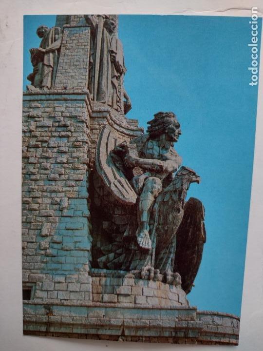 POSTAL SANTA CRUZ DEL VALLE DE LOS CAÍDOS - ESCULTURA JUAN - EDITORIAL PATRIMONIO NACIONAL PSV-4/86 (Postales - España - Madrid Moderna (desde 1940))