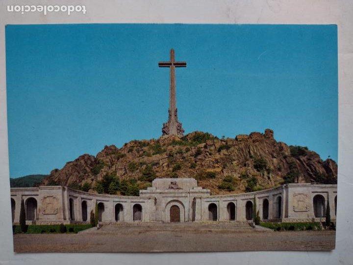 POSTAL SANTA CRUZ DEL VALLE DE LOS CAÍDOS - FACHADA PRINCIP - EDITORIAL PATRIMONIO NACIONAL PSV-1/86 (Postales - España - Madrid Moderna (desde 1940))
