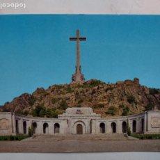 Postales: POSTAL SANTA CRUZ DEL VALLE DE LOS CAÍDOS - FACHADA PRINCIP - EDITORIAL PATRIMONIO NACIONAL PSV-1/86. Lote 277031148