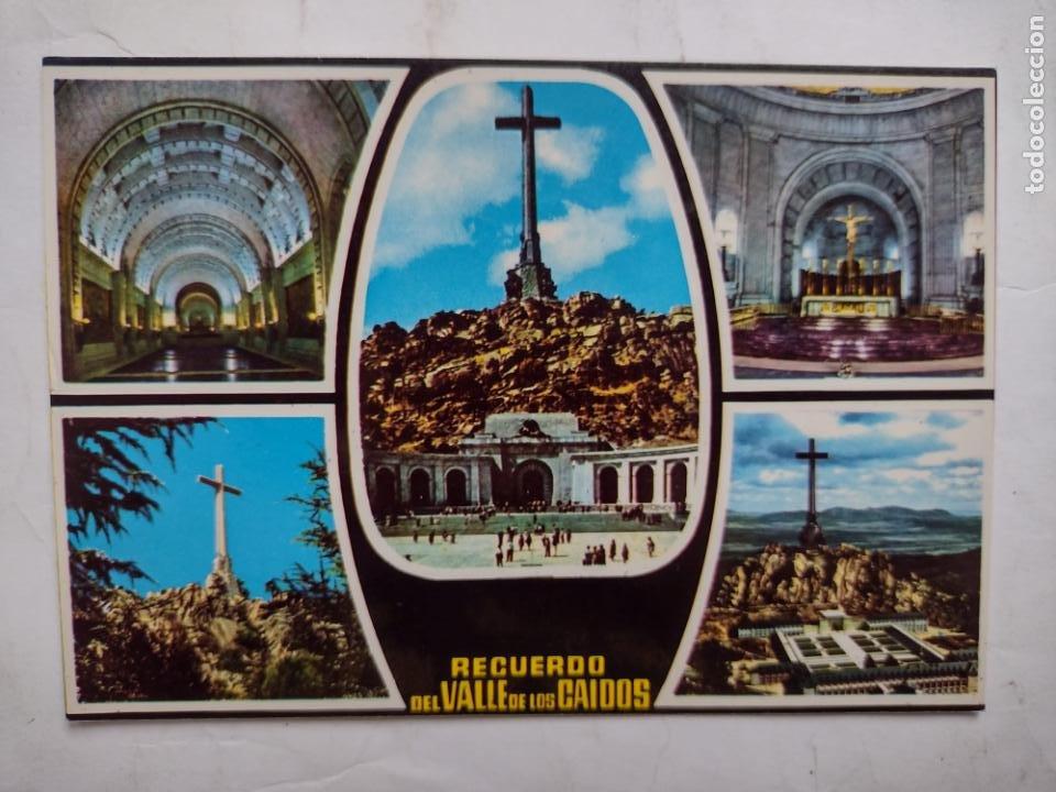 POSTAL RECUERDO DEL VALLE DE LOS CAÍDOS - NAVE CENTRAL- EDITORIAL PATRIMONIO NACIONAL Nº45 (Postales - España - Madrid Moderna (desde 1940))