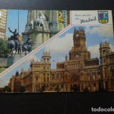 Postales: MADRID VARIAS VISTAS. Lote 277300548