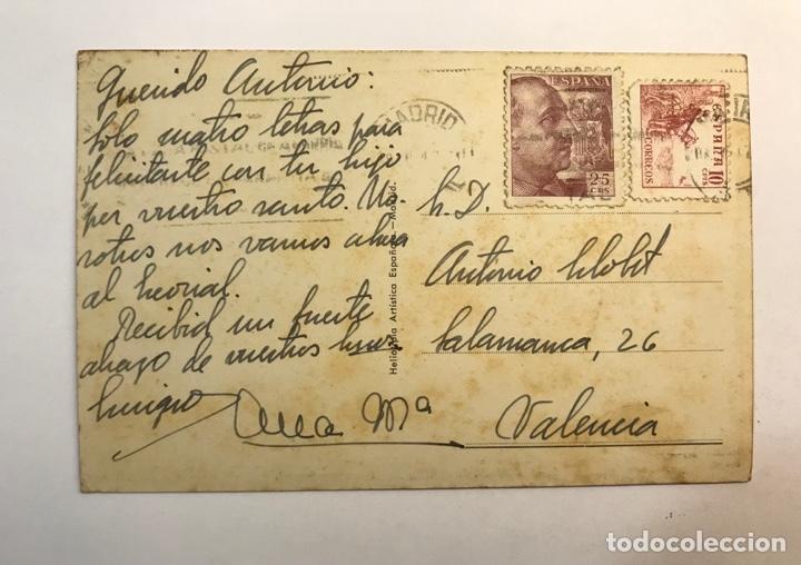 Postales: MADRID Postal Animada No.5, Avenida de José Antonio y Capitol. Edi, H.A.Española (h.1947?) - Foto 2 - 277416223