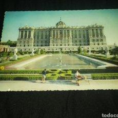 Postales: MADRID, 1964,PALACIO REAL, POSTAL.. Lote 277531508