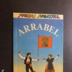 Postales: ARRABEL MADRID MUSICA Y DANZA CASTELLANA POSTAL PEGATINA. Lote 277656443
