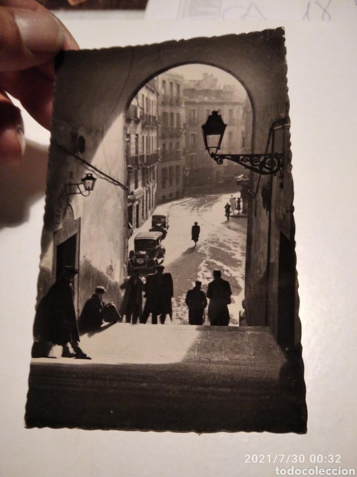 POSTAL ANTIGUA MADRID ARCO DE CUCHILLEROS CA18C (Postales - España - Madrid Moderna (desde 1940))
