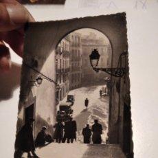 Postales: POSTAL ANTIGUA MADRID ARCO DE CUCHILLEROS CA18C. Lote 278298933