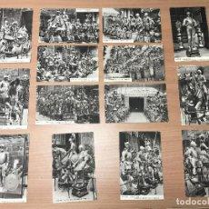 Postales: LOTE 14 POSTALES ANTIGUAS ARMERIA REAL. Lote 278329348