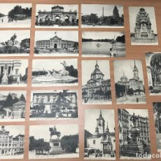 Postales: LOTE 19 TARJETA POSTAL ANTIGUAS MADRID NUMERADAS. Lote 278330033