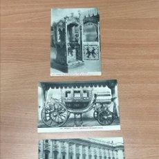 Postales: LOTE 3 TARJETA POSTAL ANTIGUAS MADRID NUMERADAS 534 - 637 - 665. Lote 278415273