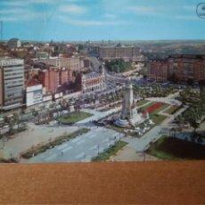 Postales: MADRID - PLAZA DE ESPAÑA Y PALACIO DE ORIENTE (ESCRITA Y CIRCULADA). Lote 278469043