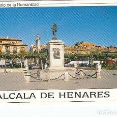 Postales: ALCALA DE HENARES.- PLAZA DE CERVANTES. Lote 278484813