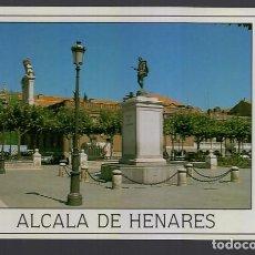 Postales: ALCALA DE HENARES.- PLAZA DE CERVANTES. Lote 278486348