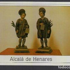 Postales: ALCALA DE HENARES.- SANTOS NIÑOS JUSTO Y PASTOR. Lote 278486938