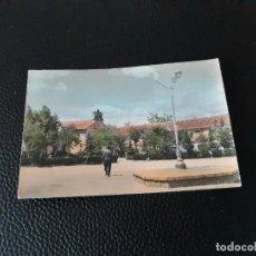 Postales: POSTAL DE VILLALBA PLAZA DEL GENERAL MOLA. EDITORIAL VISTABELLA. Lote 278567118