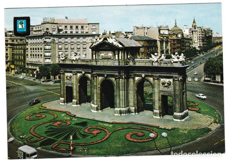 POSTAL PUERTA DE ALCALA (Postales - España - Madrid Moderna (desde 1940))