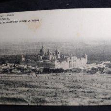 Postales: POSTAL AÑO 1919 * EL ESCORIAL , EL MONASTERIO DESDE LA PRESA *. Lote 278705353