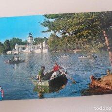 Postales: MADRID Nº 112 .- ESTANQUE DEL RETIRO .- DETALLE .- EDICION BEASCOA. Lote 278831083