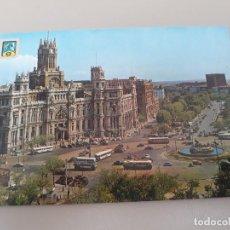 Postales: LA CIBELES MADRID Nº 83 - ESCUDO DE ORO - PASEO DEL PRADO - PALACIO DE COMUNICACIONES FISA. Lote 278831678