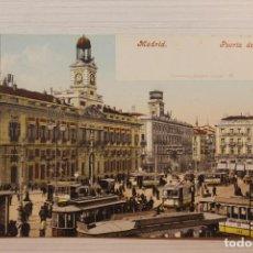 Cartoline: POSTAL MADRID, PUERTA DEL SOL, PURGER. Lote 282590583