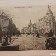 Cartoline: POSTAL MADRID, CALLE DE ALCALÁ, ED. MADRID POSTAL. Lote 282595548