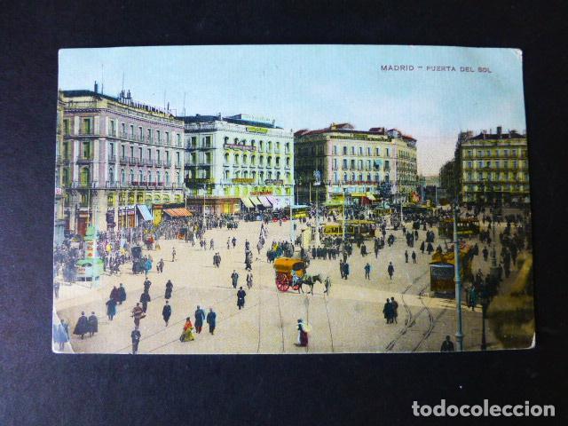 MADRID PUERTA DEL SOL (Postales - España - Comunidad de Madrid Antigua (hasta 1939))