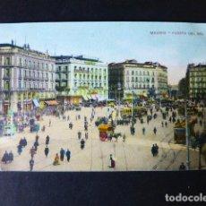 Postales: MADRID PUERTA DEL SOL. Lote 284802648