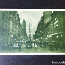 Cartoline: MADRID AVENIDA DE PI Y MARGALL GRAN VIA. Lote 284803823