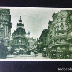 Cartoline: MADRID AVENIDA DEL CONDE DE PEÑALVER GRAN VIA. Lote 284803883