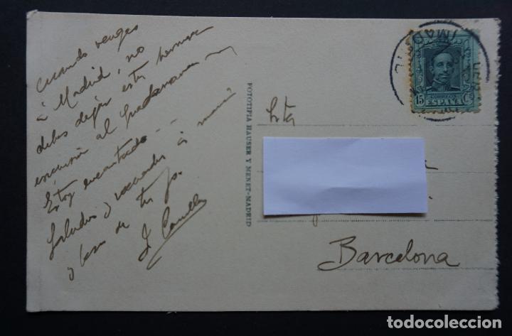 Postales: Puerto de Navacerrada: La Colonia, postal circulada con sello del año 1927 - Foto 2 - 285042998