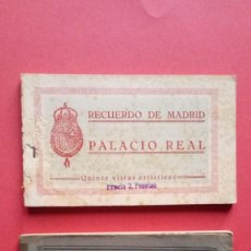 Cartoline: PALACIO REAL.-RECUERDO DE MADRID.-RECUERDO DE EL PARDO.-GRAFOS.-LOTE DE 2 BLOC CON 35 POSTALES.. Lote 285320218
