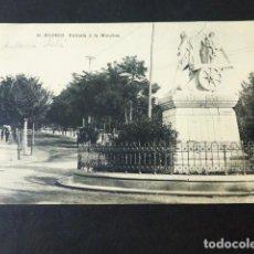 Postales: MADRID ENTRADA A LA MONCLOA. Lote 285349838