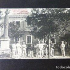 Postales: ALCALA DE HENARES MADRID PLAZA DEL EMPECINADO Y CUARTEL DE SEMENTALES. Lote 285351298