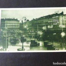 Cartoline: MADRID DE NOCHE PUERTA DEL SOL. Lote 285483703