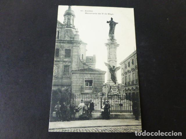 MADRID MONUMENTO DEL 31 DE MAYO (Postales - España - Comunidad de Madrid Antigua (hasta 1939))