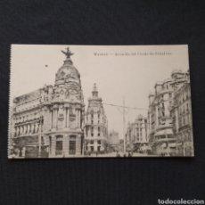 Postales: FOTOTIPIA J. ROIG - MADRID. AVENIDA DEL CONDE DE PEÑALVER. Lote 286467148