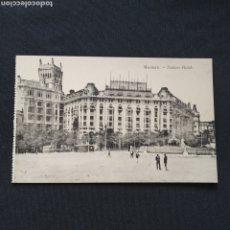 Postales: FOTOTIPIA J. ROIG - MADRID. PALACE HOTEL. Lote 286470903