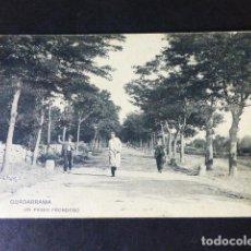 Postales: GUADARRAMA MADRID UN PASEO FRONDOSO. Lote 286486158