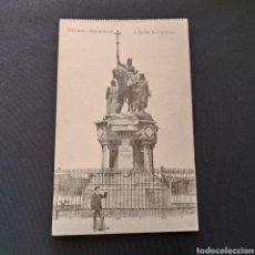 Postales: FOTOTIPIA J. ROIG - MADRID. MONUMENTO A ISABEL LA CATÓLICA. Lote 286493923