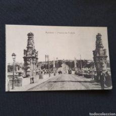 Postales: FOTOTIPIA J. ROIG - MADRID. PUENTE DE TOLEDO. Lote 286493983