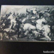 Postales: MADRID LA CARGA DE LOS MAMELUCOS DE GOYA MUSEO DEL PRADO. Lote 286928773